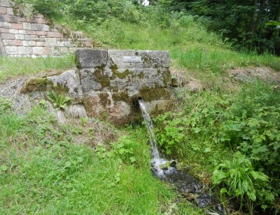 Spring water from the gallery