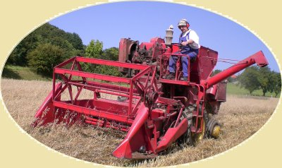 Fields will be harvested with a museum mature machine