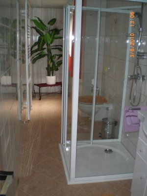 Bath room with Towel drier Extractor