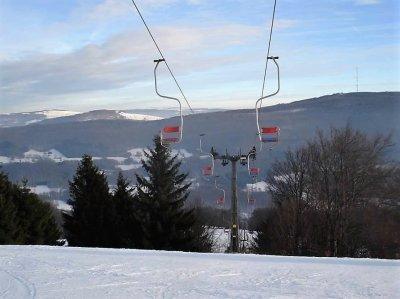 Einziger Sessellift Nord-Bayerns