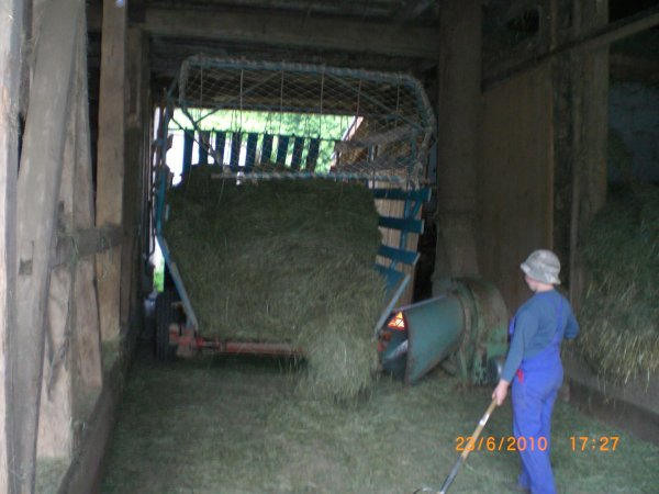 Be high with the hay-blowers