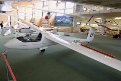 For aviation enthusiasts an interesting destination with a 100-year old history of gliding